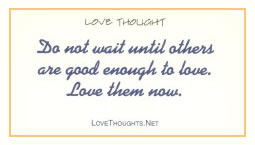 Love Thoughts without Bible Verse